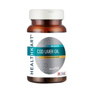 HealthKart Cod Liver Oil Capsule