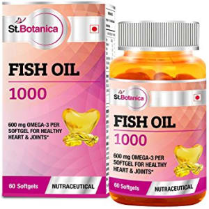 St.Botanica Fish Oil 1000mg (Omega 3) 600mg Capsule