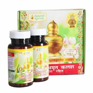 Maharishi Amrit Kalash - Dual Pack of 4 & 5 (With Sugar Free Tablets)