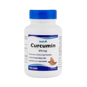HealthVit Curcumin 475mg Capsule