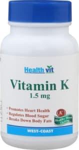 HealthVit Vitamin K 1.5mg Capsule
