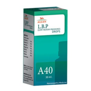 Allen A40 L.B.P. (Low Blood Pressure) Drop