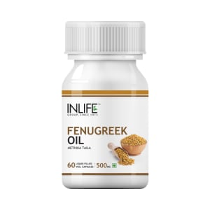 Inlife Fenugreek Oil Capsule