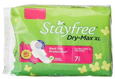 Stayfree Dry-Max Ultra Dry Pads XL
