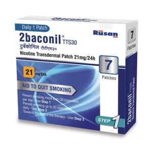 2Baconil 21mg Nicotine Patch