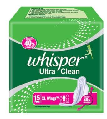 Whisper Ultra Clean Xl Wings Pads
