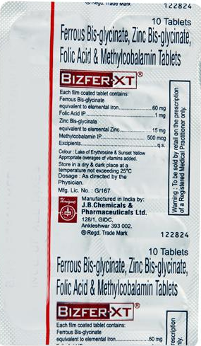BIZFER XT TABLET