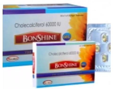 Bonshine 60 K Soft Gelatin Capsule