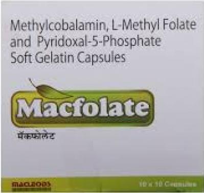 MACFOLATE SOFT GELATIN CAPSULE