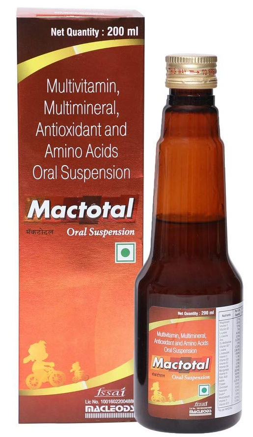 MACTOTAL ORAL SUSPENSION