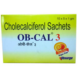 OB-Cal 3 Sachet 1gm