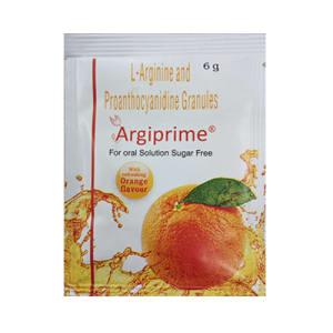 Argiprime for Oral Solution Sugar Free Sachet Orange