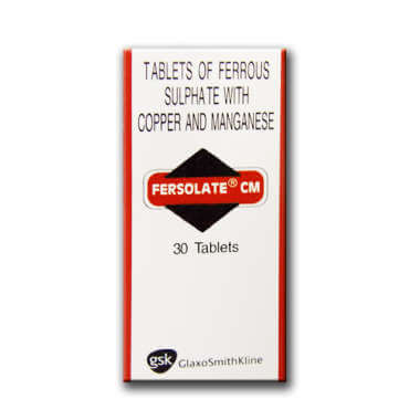 Fersolate Cm Tablet