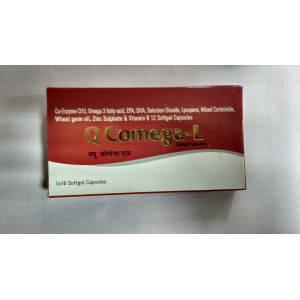 Q Comega-L Soft Gelatin Capsule