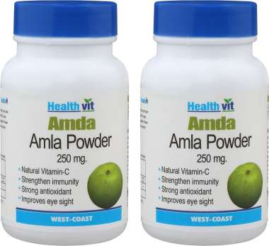 Healthvit Amla 250mg Capsule (pack Of 2)