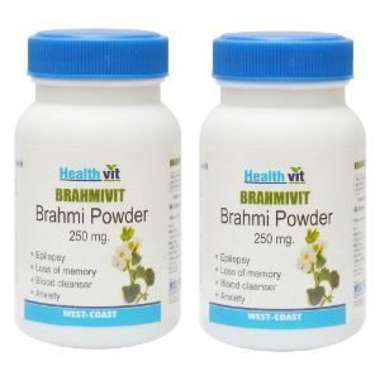 Healthvit Brahmivit 250mg Capsule (pack Of 2)