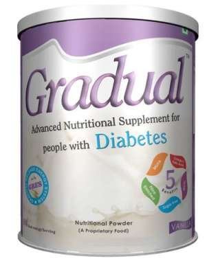 Gradual Diabetes Powder Vanilla