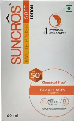 Suncros Soft Spf 50+ Lotion