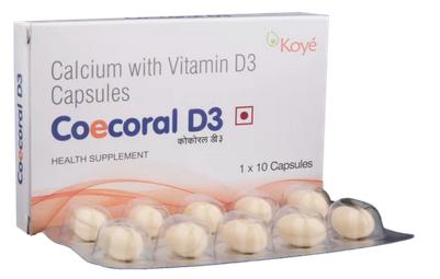 Coecoral D3 Capsule