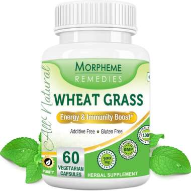 Morpheme Wheat Grass Capsule