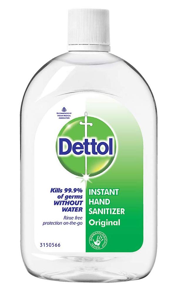 Dettol Instant Hand Sanitizer Original Liquid
