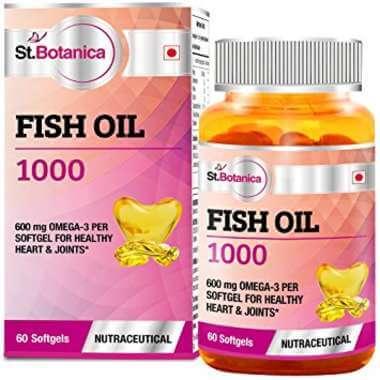 St.botanica Fish Oil 1000 Mg (omega 3) 600mg Capsule