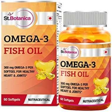 St.botanica Fish Oil 1000 Mg (omega 3) 300mg Capsule