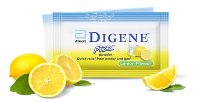 Digene Fizz Powder Lemon