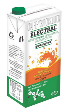 Electral Rtd Liquid Orange