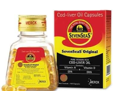 Sevenseas Original Cod Liver Oil Capsule