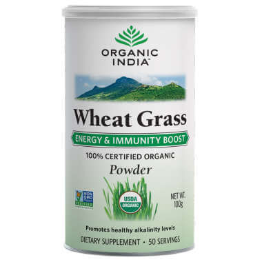 12 Wheat Grass Powder