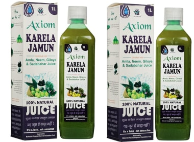 Axiom Karela Jamun Juice Pack Of 2