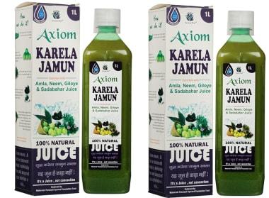 Axiom Karela Jamun Juice Pack Of 2