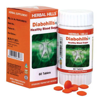 Herbal Hills Diabohills Tablet