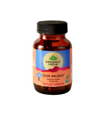 Organic India Sugr-balance Capsule