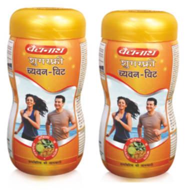 Baidyanath Chyawan-vit Sugarfree Chyawanprash Pack Of 2