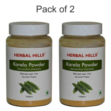 Herbal Hills Karela Powder Pack Of 2