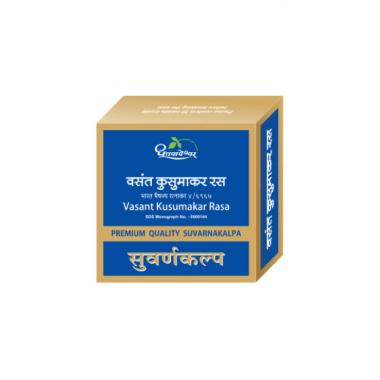 Dhootapapeshwar Vasant Kusumakar Ras Premium Quality Suvarnakalpa