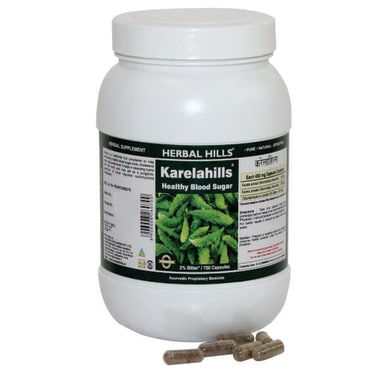 Herbal Hills Value Pack Of Karelahills Capsule