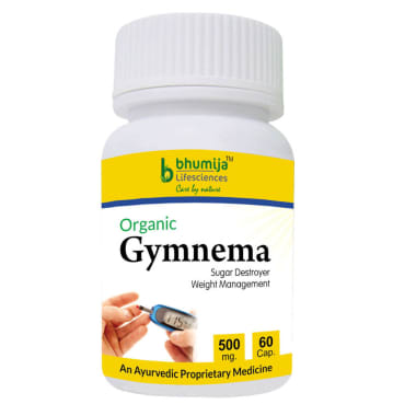 Bhumija Lifesciences Organic Gymnema 500mg Capsule