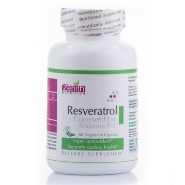 Zenith Nutrition Resveratrol, Grape Seed Extact & Redwine Extract Capsule