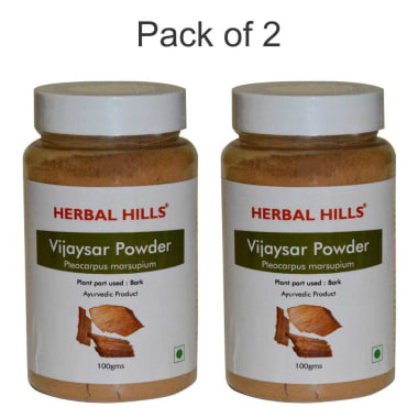 Herbal Hills Vijaysar Powder Pack Of 2