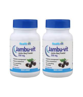 Healthvit Jambu-vit 250mg Capsule (pack Of 2)