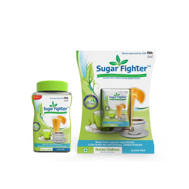 Sugar Fighter Combo Pack Of Stevia (100gm Powder) And Stevia (100tablet)