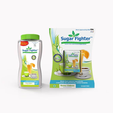 Sugar Fighter Combo Pack Of Stevia (250gm Powder) And Stevia (100 Tablets)