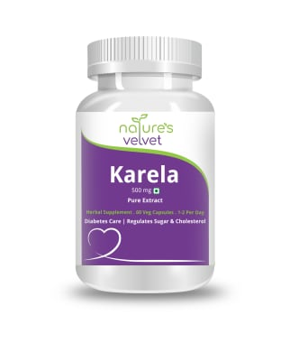 Nature's Velvet Karela Pure Extract 500mg Capsule