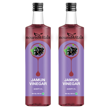 Nourishvitals Jamun Vinegar (pack Of 2)