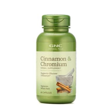 Gnc Herbal Plus Cinnamon And Chromium Capsule