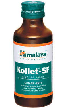 Himalaya Koflet-sf Linctus Pack Of 2