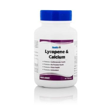 Healthvit Lycopene & Calcium Capsule